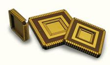 J-Bend Leaded Chip Carrier