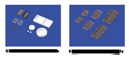 Glass and Epoxy Ceramic Lids